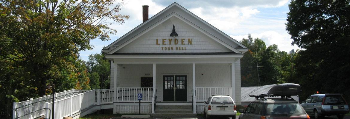 Leyden Selectboard Meetings